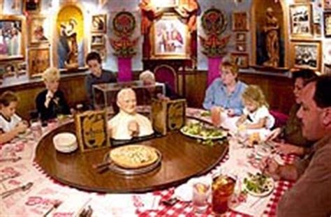 buca di beppo lays out big portions in festive atmosphere