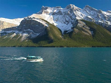 lake minnewanka boat cruise lake minnewanka cruise alberta canada