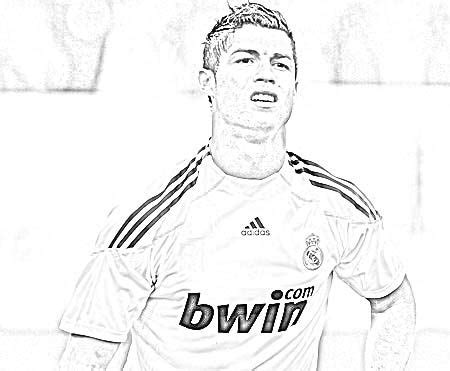 coloring pages ronaldo cristiano ronaldo coloring sketch free download http