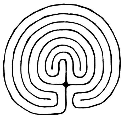 Labyrinth Outline amused grace labyrinth three