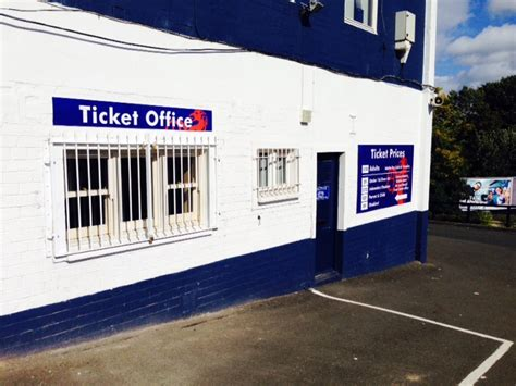 Ticket Office by New Matchday Concessionary Admission Arrangements Home