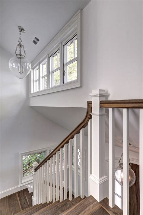 Traditional Staircase Ideas East Hton Shingle Cottage With Coastal Interiors Home Bunch Interior Design Ideas
