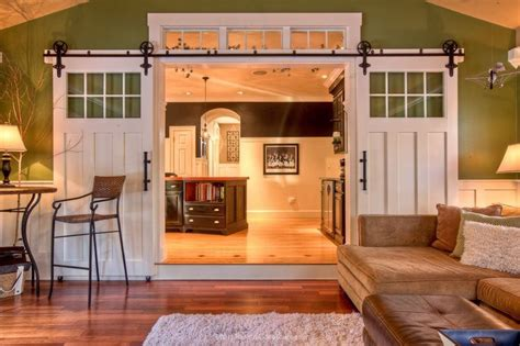 Kitchen To Living Room Doors These Sliding Doors Instead Of Boring Doors To