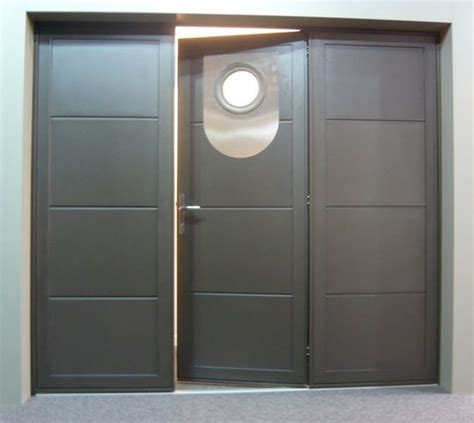 Charmant Porte Interieure Isolante Thermique #2: zoomportedegarageportepli13.jpg