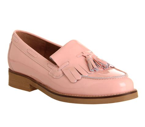 light pink loafers office extravaganza loafer light pink patent leather flats