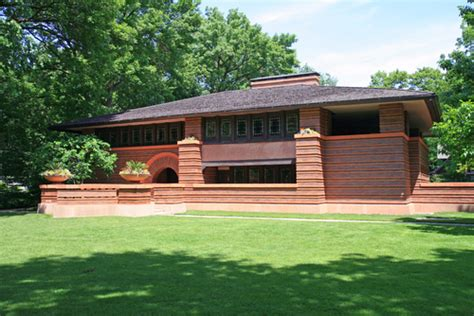 prairie houses frank lloyd wright heurtley house 1902 oak park illinois frank lloyd