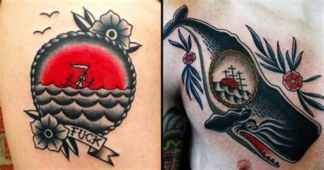 sinking ship tattoo 22 distinguished sinking ship tattoos tattoodo