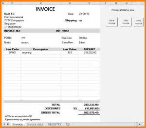 How To Make An Invoice Template by Free Invoice Design Template Studio Design Gallery