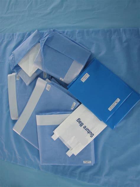 surgical drape medical wears uniform drape gown mask glove cap surgical