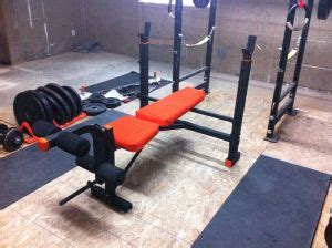 bench press craigslist refurbish a bench garage gym guy