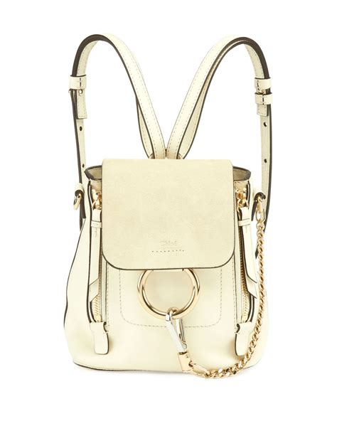 White Backpack Bag summer 2017 bag collection spotted fashion