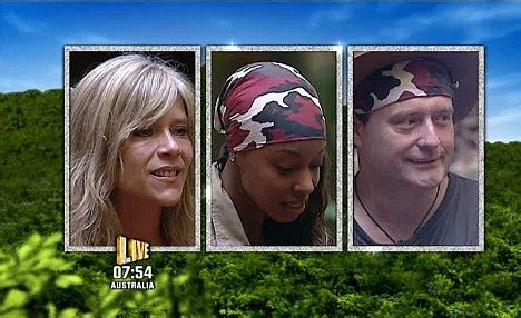 celebrity jungle eviction tonight i m a celebrity is this most disgusting trial ever as kim