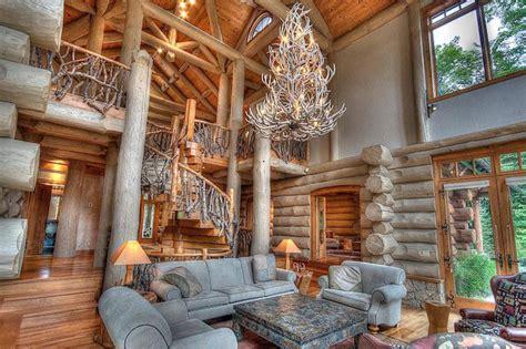 muskoka log home rustic outdoor lighting toronto what a 10 million log cabin in muskoka looks like