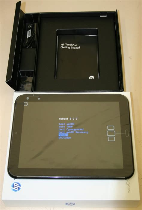 hp touchpad android 9 7in hp touchpad 16gb wi fi glossy black dualboot webos android fb454ut tablet ebay