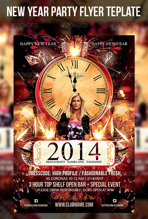 superstore new year flyer review new year flyer template codesign