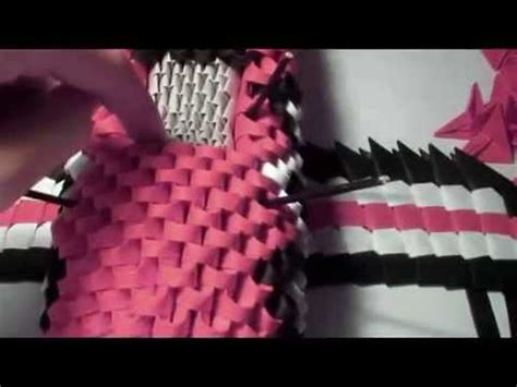 3d origami biplane tutorial how to made 3d origami biplane tutorial 4 creative new