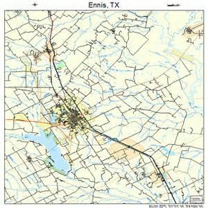 map of ennis ennis map 4824348