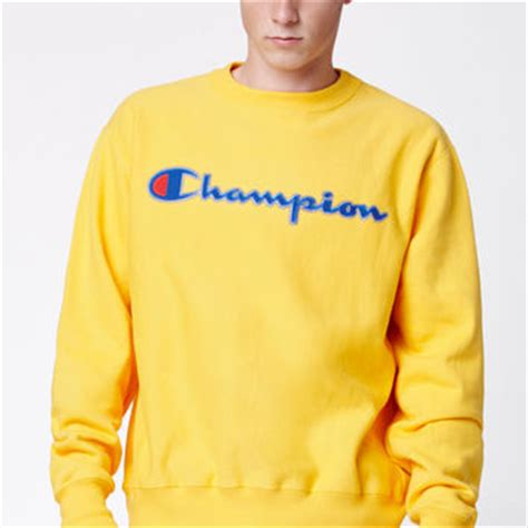 Mustard Yellow Home Decor champion reverse weave crew neck from pacsun clothes 161