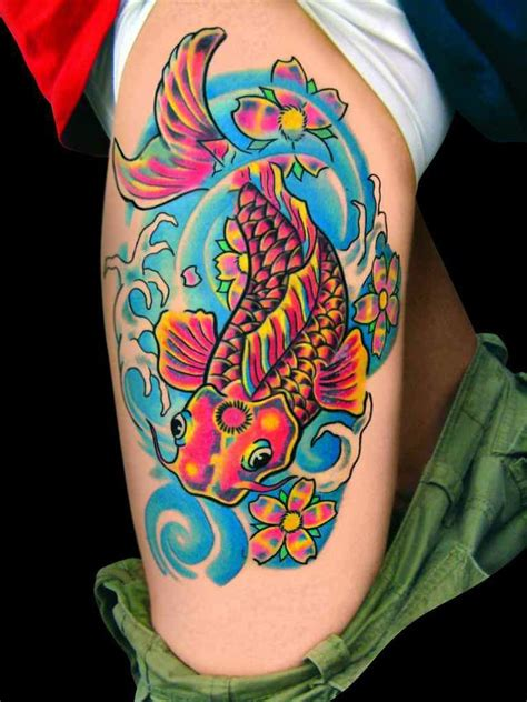 25 best ideas about bright colorful tattoos on