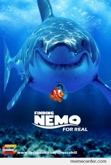 finding nemo for real by ben meme center