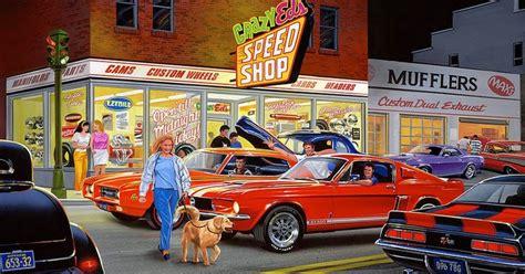 cuadros antiguos al oleo cuadros pinturas oleos cuadros de carros antiguos al