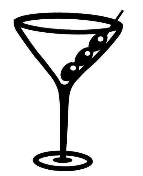 Which Adhesive Vinyl For Mugs - mug martini glass the bar is open sign silhouette
