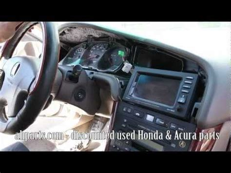 electric power steering 2001 acura mdx parking system how to change replace install radio navigation screen 1999 2000 2001 2002 2003 acura tl