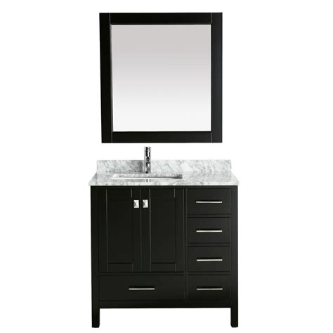 design element two london 36 in w x 22 in d vanity in design element london 36 in w x 22 in d vanity in
