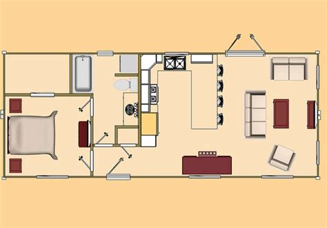 Tiny House Finder by Cozyhomeplans Com 640 Sq Ft Two 40 Shipping Container