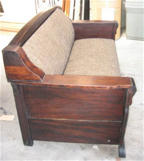 Antique Sleeper Sofa Black Salvage Architectural Antiques Custom Designs Antique Davenport Sleeper Sofa