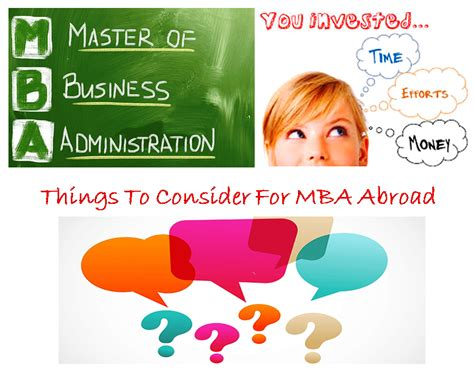 Things To Do Before Starting An Mba by Things To Consider Before Applying For Mba In Abroad