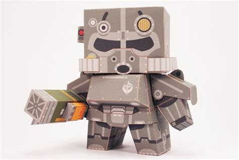 Fallout Papercraft - fallout brotherhood of steel free paper