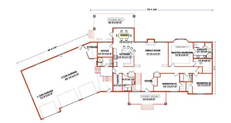 Angled Ranch House Plans by Ranch Style Floor Plans With Angled Garage Ranch Style