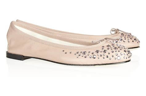 Blush Flat Wedding Shoes by Pretty Blush Ballet Flats Embellished Wedding