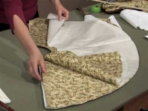 create a christmas tree skirt in an evening youtube