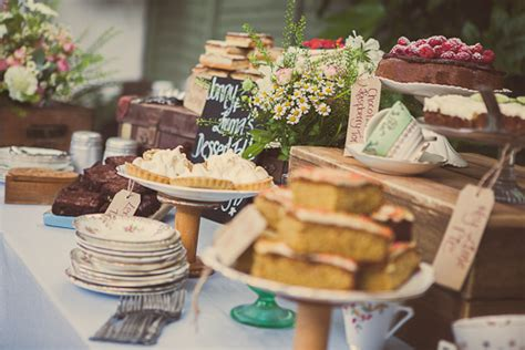 Small Barn Wedding Venues Wedding Dessert Table With Rustic Crates Vintage Crockery