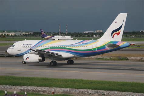 File:Bangkok Airways Airbus A319-132; HS-PGY@BKK;29.07 ...