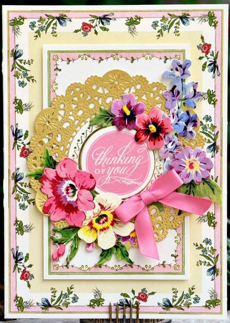 Thinking Of You Hsn Gift Card 10072694 Hsn - 158 best anna griffin pretty paintings cards and borders and corners st designs