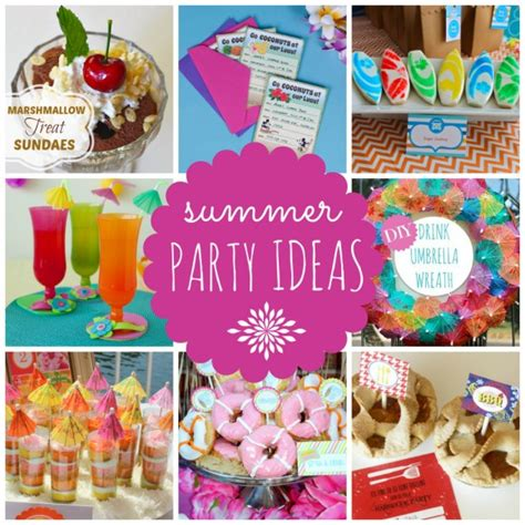 fun summer party ideas summer parties airplane parties and movie night ideas