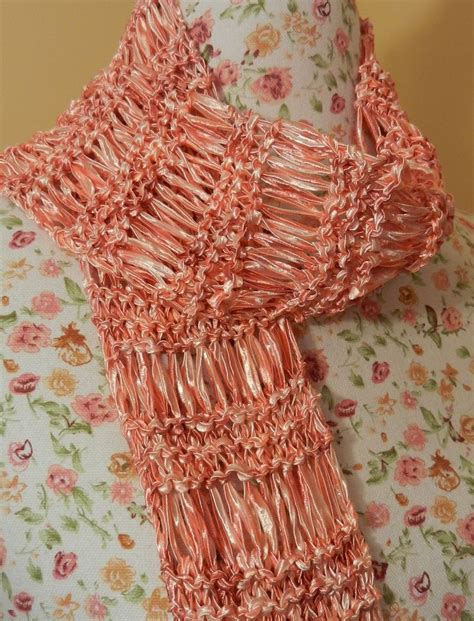pattern ladder yarn scarf 49 best images about ladder yarn patterns on pinterest