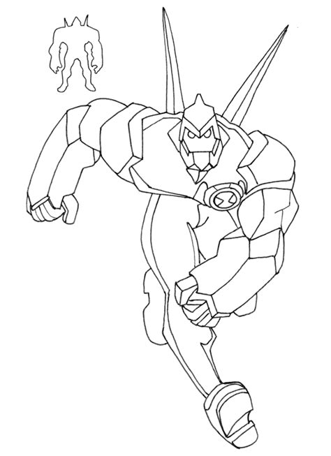 download ben 10 coloring pages superhero coloring pages