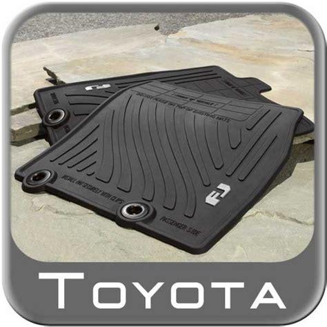 Fj Cruiser Mats by 2011 2014 Toyota Fj Cruiser Rubber Floor Mats All Weather
