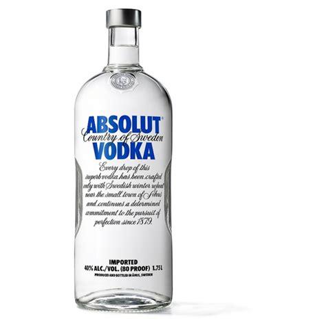 vodka price absolut blue vodka 1 75l