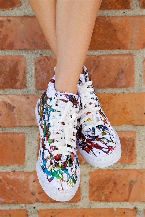 1000 ideas about painted sneakers on painted