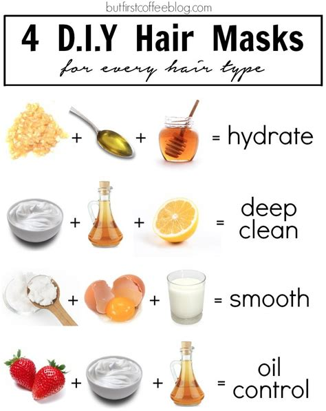 Diy Moisturizing Mask For Skin Diy Do It Your Self 4 Diy Hair Masks For Every Hair Type But Coffee Connecticut Based Diy