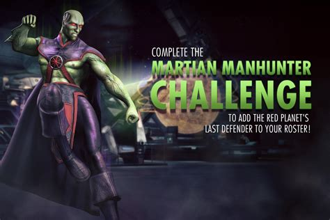 injustice gods among us 1401274269 martian manhunter is back new injustice mobile challenge