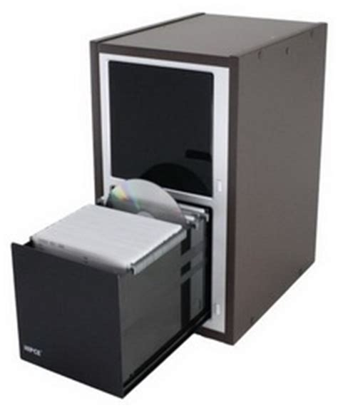 Hipce CDCT 200 One Touch CD/DVD Cabinet   Stackable #Hipce