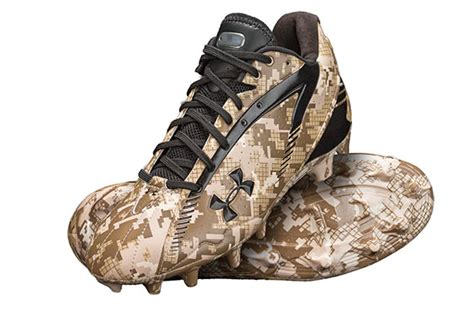warrior football shoes armour partnered with the wounded warrior project