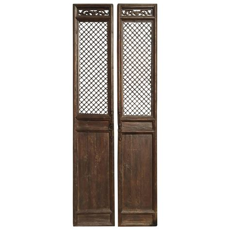 19th century antique doors or screens for sale at