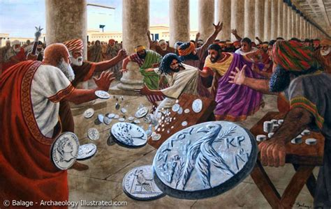 What Are The Tables Called That Go A by Jesus And The Moneychangers Ferrell S Travel